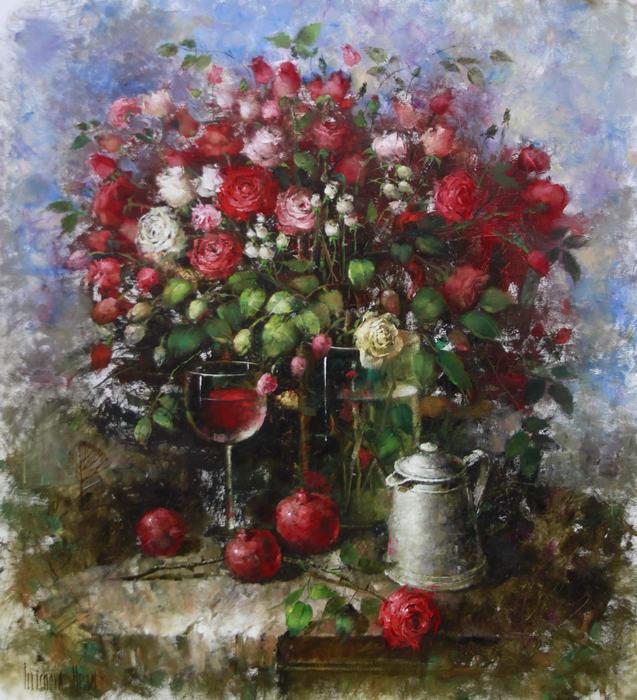 «Английский розовый сад»