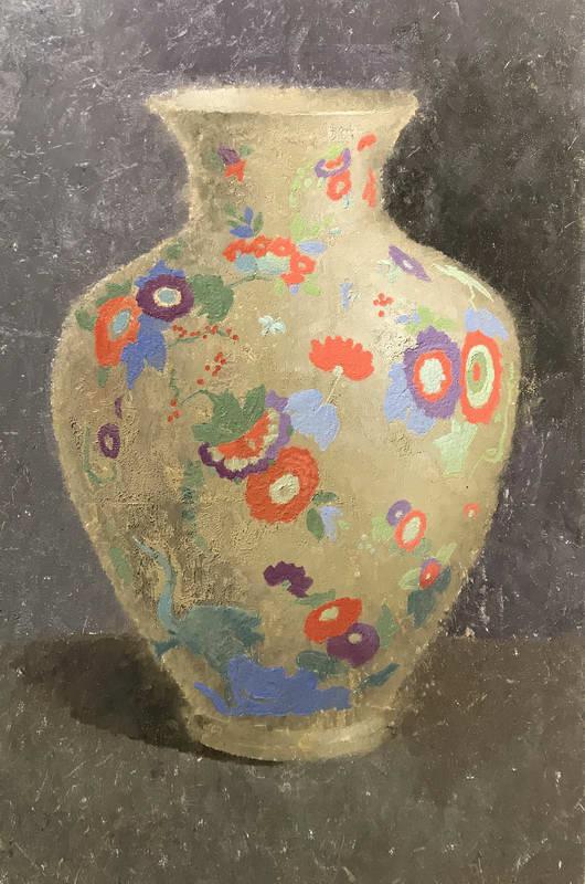 Расписная ваза
