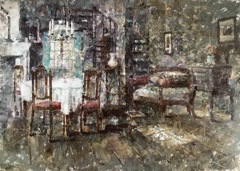 Картина №6 «Гостиная без гостей»