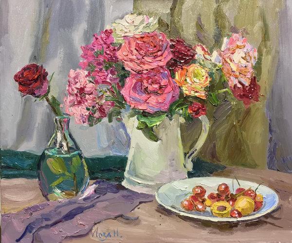 Расцветают розы