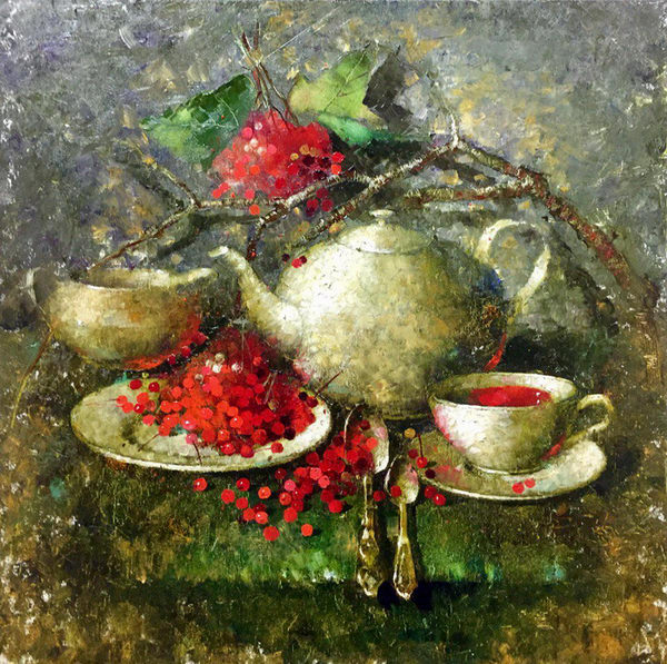 Новогодний ягодный чай