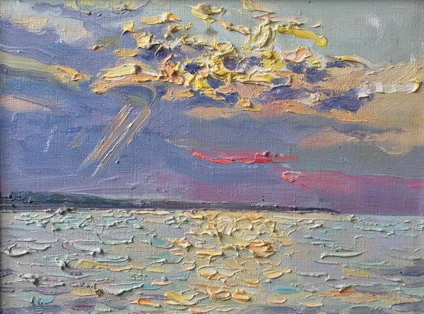 Сквозь облака 30х40 - 2014