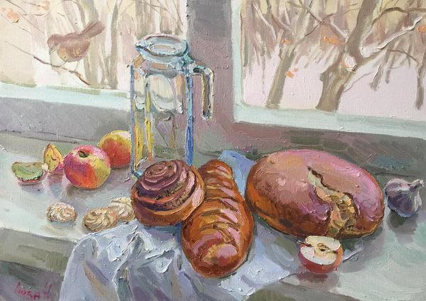 Хлеб и сдоба 50х70 - 2017