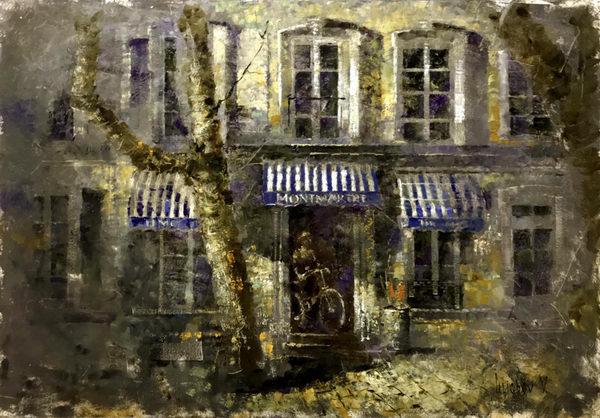 На прогулку(Французская улочка)