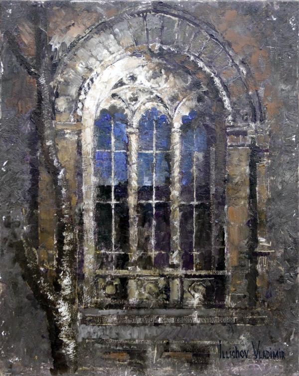 Окно Одесской филармонии