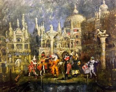 Карнавальное шествие - Венеция