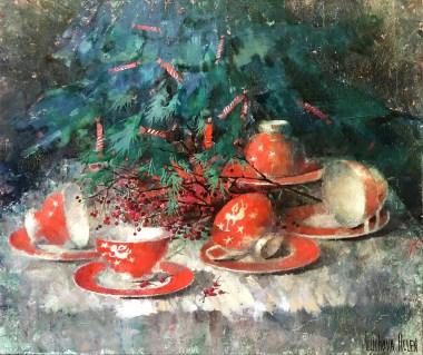 Танец красных чашечек