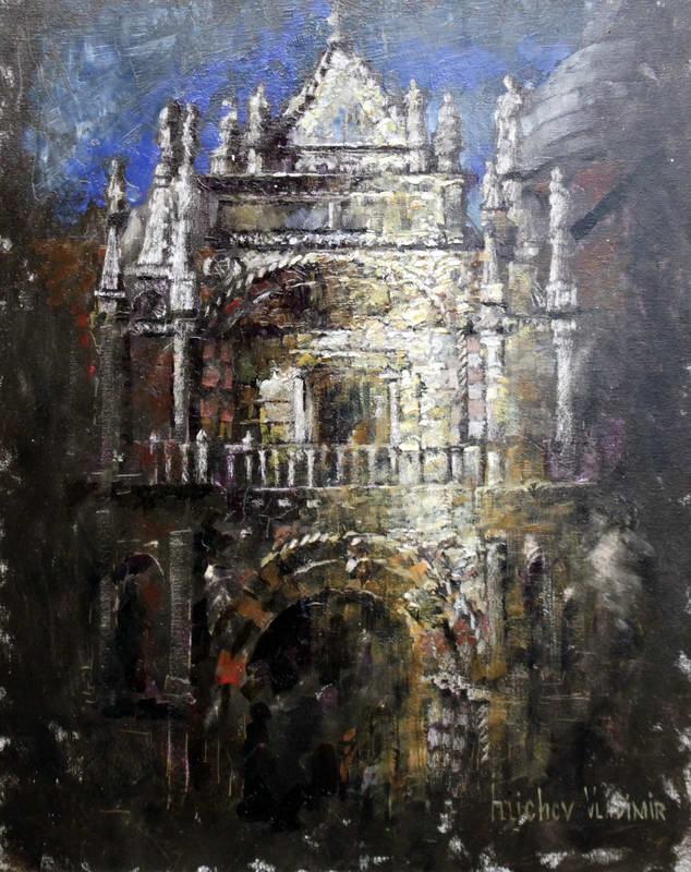 Видео урок живописи Собор Святого Марка