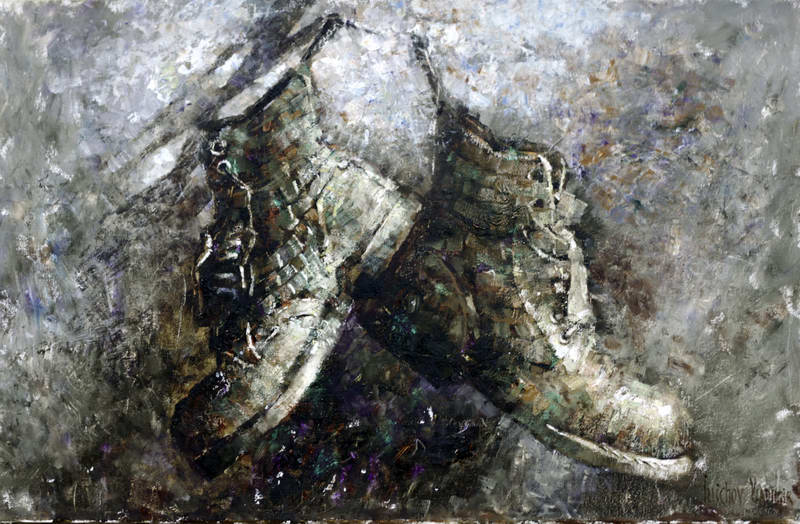 Ботинки байкера
