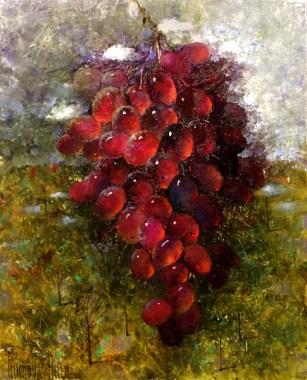 Гроздь солнечного винограда