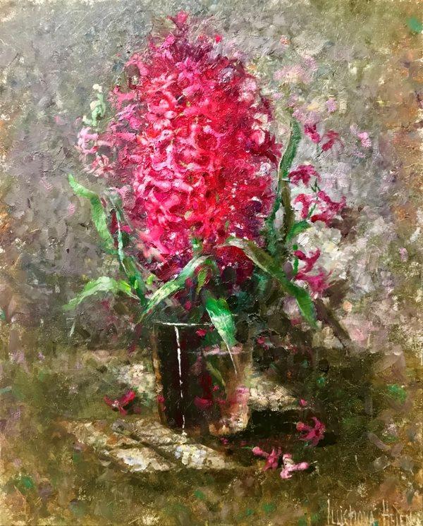 Розовый гиацинт