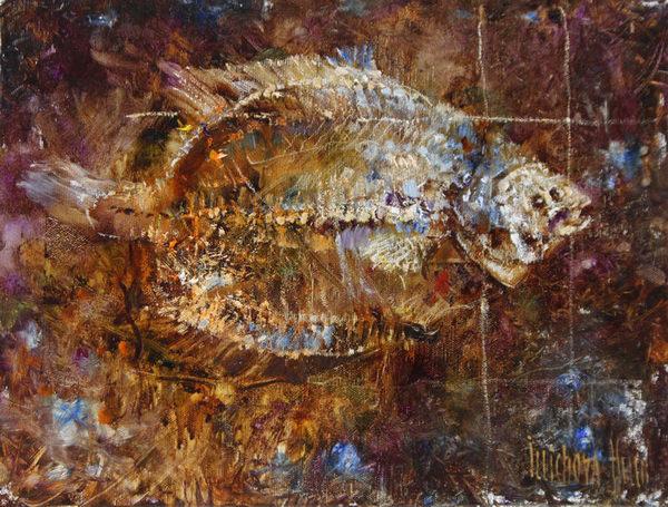 Глубоководная рыбка