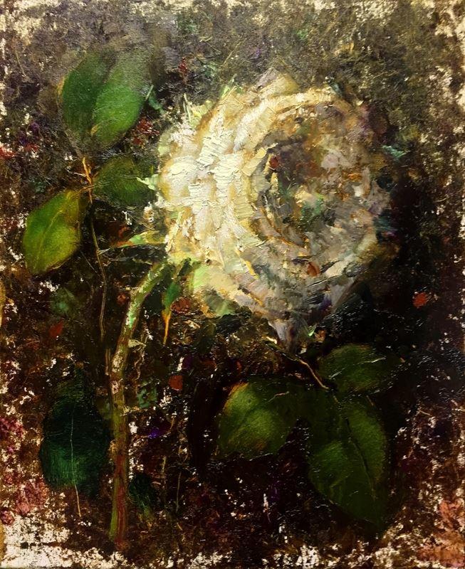 Три белых розы 2