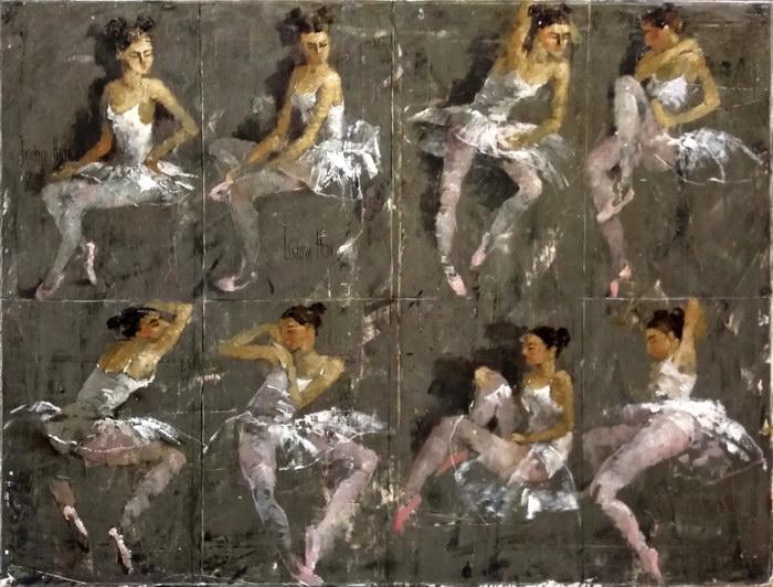 Восемь балеринок